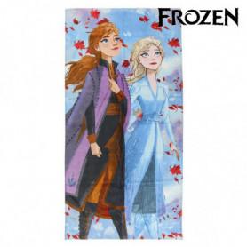Serviette de plage Frozen 75498 Coton Lila