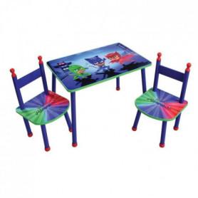 LES PYJAMASQUES Table+2 chaises pour enfant