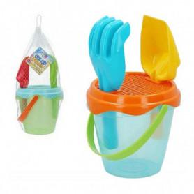 Set de jouets de plage Color Beach Plastique (3 Pcs)