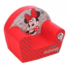 MINNIE Fauteuil Club Disney Baby Rouge