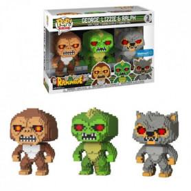 3 Figurines Funko Pop! Rampage