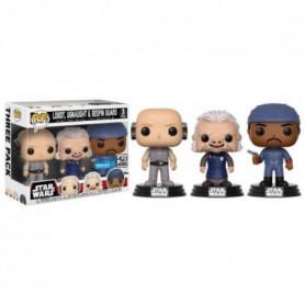 3 Figurines Funko Pop! Star Wars: Lobot, Ugnaught, Dengar