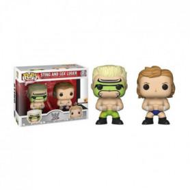 2 Figurines Funko Pop! WWE: Lex Luger & Surfer Sting