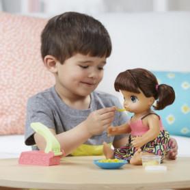 Baby Alive Mange des Pâtes (Brune) Hasbro