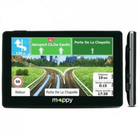 "MAPPY ITI E438 Navigateur GPS 4.3"" Carte à vie"