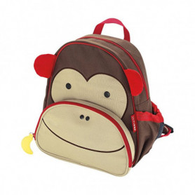 Sac à dos enfant Nikidom Monkey Marron