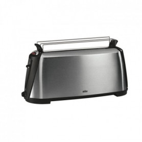 BRAUN HT600 Grille-pain Sommelier - Inox