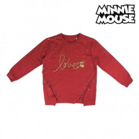 Sweat-shirt à capuche fille Minnie Mouse 74245 Rouge