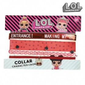 Collier Fille LOL Surprise! 73782 Rouge