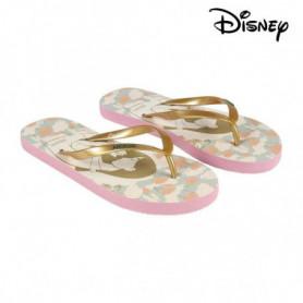 Tongs pour Femmes Princesses Disney 74434 Beige Doré
