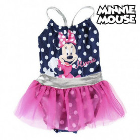 Maillot de Bain Fille Minnie Mouse Blue marine