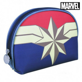 Trousse d'écolier Captain Marvel Blue marine
