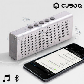 Enceinte Bluetooth Waterproof CuboQ Metal