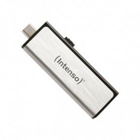 Clé USB et Micro USB INTENSO 3523480 32 GB Argent