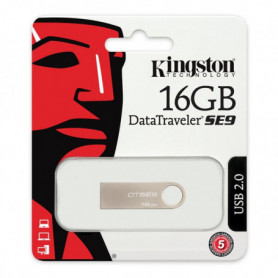 Pendrive Kingston FAELAP0171 DTSE9H 16 GB USB 2.0 Argenté Métal