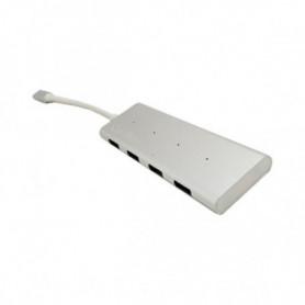 Hub USB CoolBox COO-HUC4U3 Blanc (4 ports)
