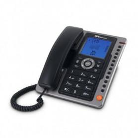 Téléphone fixe SPC 3604N LED Noir