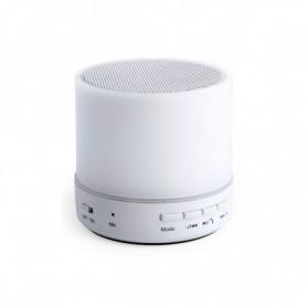 Haut-parleur Bluetooth avec Lampe LED USB 3W Blanc 146086