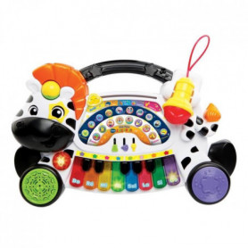 VTECH BABY - Jungle Rock - Piano Zebre - Jouet Musical