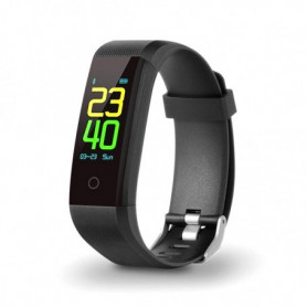 "Bracelet d'activités SPC 9627N 0,96"" TFT Bluetooth 90 mAh Noir"