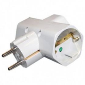 Adaptateur pour Prises Silver Electronics 3500W Blanc