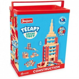 JEUJURA Tecap ? Architect - 120 planchettes en boi