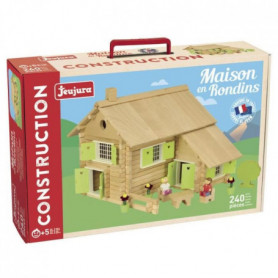 JEUJURA Maison en rondins - 240 pieces