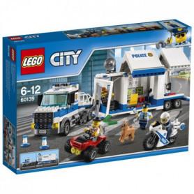 LEGO City 60139 Le Poste de Commande mobile