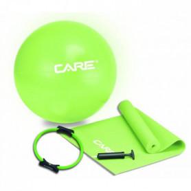 CARE Kit Pilates avec ballon tapis anneau pompe