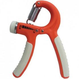 TUNTURI Haltère pour les doigts crispateur ajustable - résistance faible, orange