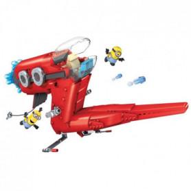 LES MINIONS Mega Bloks - Le Jet de Supervillain
