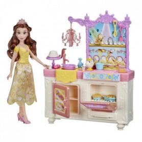 Disney Princesses - Poupee Belle et sa cuisine royale