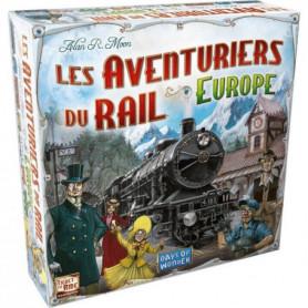 ASMODEE - Les Aventuriers du Rail Europe - Jeu de société