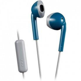 Ecouteur Intra-auriculaire, microphone et télécommande