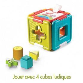 TINY LOVE Cube Magique Et Jeux D'encastrement