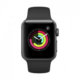 AppleWatch Series3 GPS, 38mm aluminium gris sidéral avec bracelet sport noir