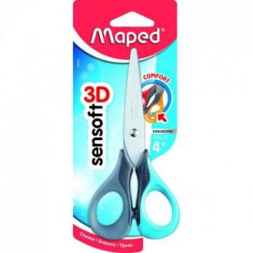 MAPED - Ciseaux Sensoft 3D Symétriques 13,5cm