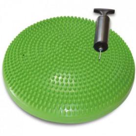 TUNTURI Coussin d'équilibre air stepper yoga gymnastique vert