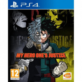 My Hero One's Justice Jeu PS4