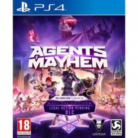 Agents Of Mayhem Day One Edition Jeu PS4