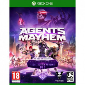 Agents Of Mayhem Day One Edition Jeu Xbox One