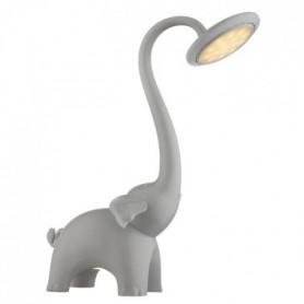 Lampe a poser LED en Plastique 39x16x33 cm Gris