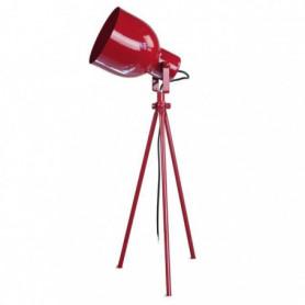 CARLSON 9 Lampe a poser acier 40x40x45 cm - Rouge
