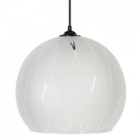 BIA Lustre - suspension verre Globe, diametre 30 cm