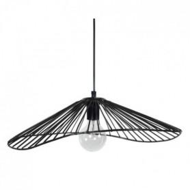 LADY Lustre - suspension filaire 50x44x13 cm noire