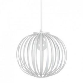 DAVOS Lustre - suspension lamelles forme boule blanc