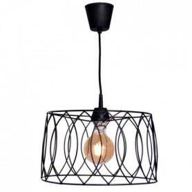 Lustre - suspension Jarvis cage Ø35 cm noir