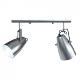 LARSEN 2 Lustre acier 60x60x80 cm Aluminium