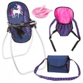 BAYER Set Accessoires pour poupée licorne