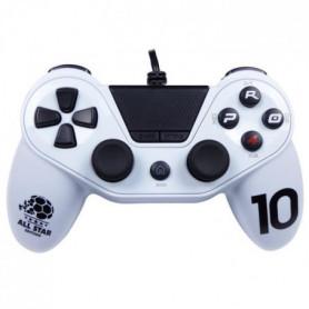 Manette Pro 4 Blanche pour PS4 et PC